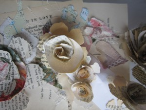 paper flowers for favours
